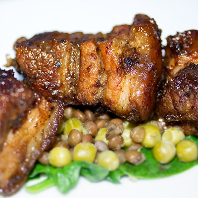 punky reggae pork belly