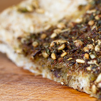 za'atar pitta bread