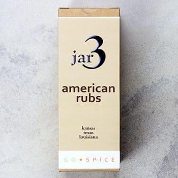 three jar american rubs