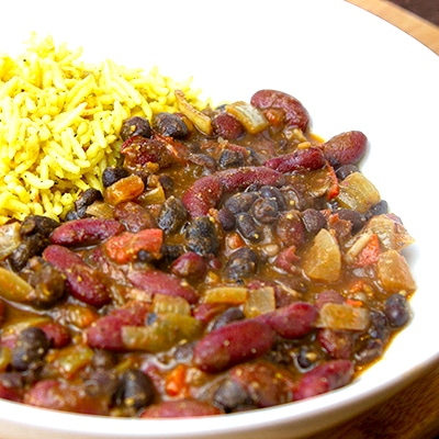 durban bean curry