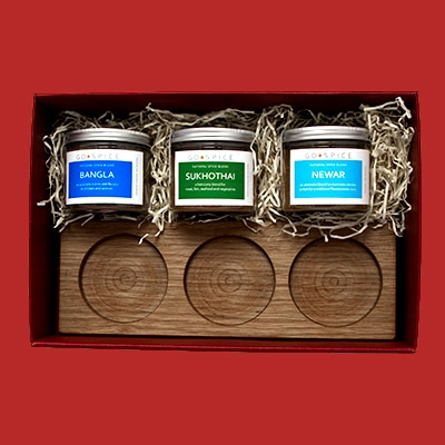 International Curry Gift Box