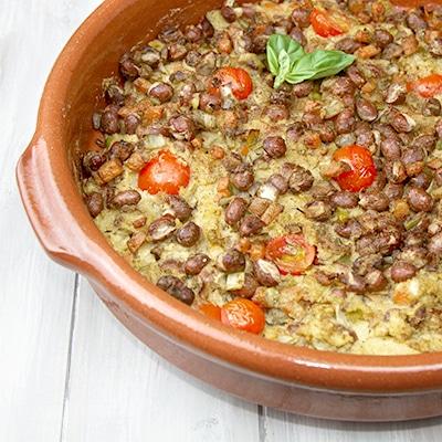 Polenta & Borlotti Bean